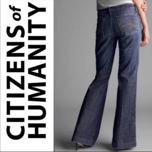 Citizens of Humanity Flare Full Leg Jeans Kate 066